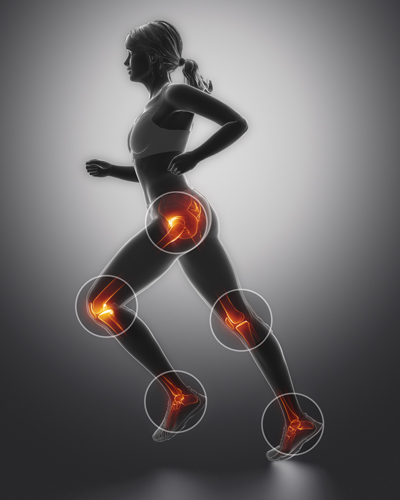 Hip, Knee & Ankle Pain Relief